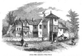 Hulme Hall, Hulme, Manchester, England shortly before demolition in 1840.png
