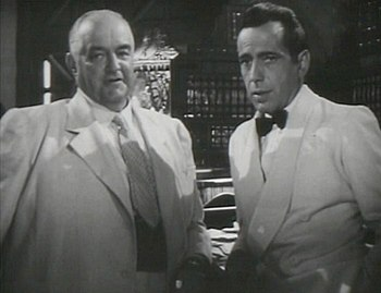 This screenshot shows Sydney Greenstreet and H...