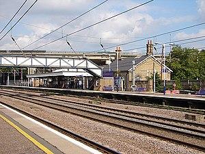 Huntingdon railway station - Image: Huntingdon Station geograph.org.uk 1018223