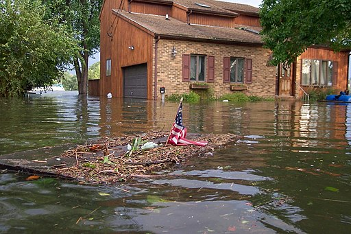 Hurricane Isabel flood damage Maryland
