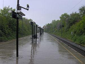 Husum station - Image: Husum Station 7
