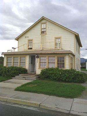 National Register of Historic Places listings in Matanuska-Susitna Borough, Alaska - Image: Hyland Hotel