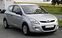 Hyundai i20 1.2 Classic – Frontansicht (1), 21. Juni 2011, Heiligenhaus.jpg