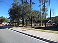 I-10 Baker County, Florida WB Rest Area Picnic tables.JPG