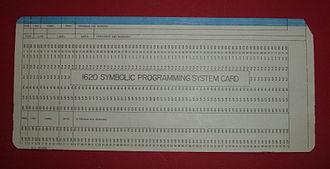 IBM 1620 - IBM 1620 SPS card