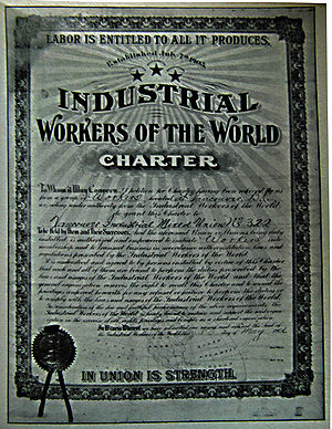 The first IWW charter in Canada, Vancouver Ind...