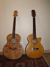 6 Telli Akustik İbanez ve 12 Telli Akustik Fender