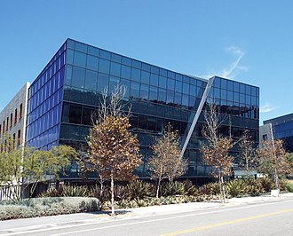 Internet - ICANN headquarters in the Playa Vista neighborhood of Los Angeles, California, United States.