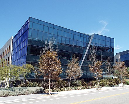 ICANN headquarters in the Playa Vista neighborhood of Los Angeles, California, United States. Icannheadquartersplayavista.jpg