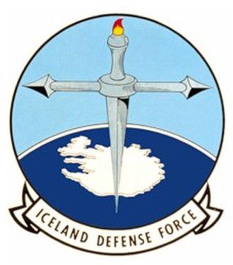 Iceland Defense Force - The emblem of the Iceland Defense Force
