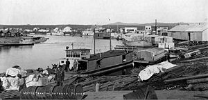 Port of Iditarod, around 1911