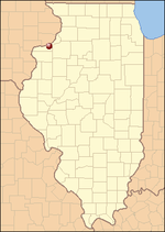 Location in Illinois