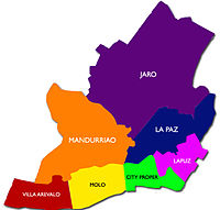 The Geographic Disrtricts of Iloilo City