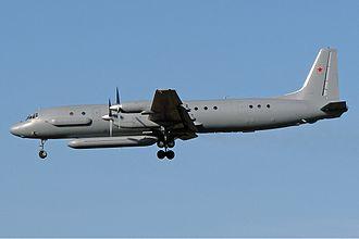 Ilyushin Il-18 - An Il-20M in 2009