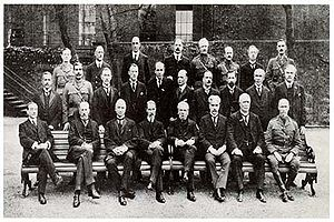 Imperial War Cabinet - The Imperial War Cabinet at No. 10 Downing Street in 1917