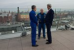 In Moscow, Secretary Kerry Speaks With Astronaut Scott Kelly and Cosmonaut Mikhail Kornienko About Their One-Year Mission in Space (25731248910).jpg
