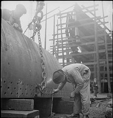 In a British Shipyard- Everyday Life in the Shipbuilding Industry, UK, 1943 DB118.jpg