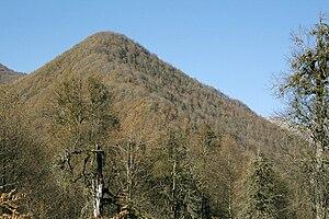 Seven Shrines of Abkhazia - Inal-Kuba mountain.