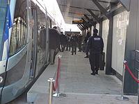 Inauguration de la branche vers Vieux-Condé de la ligne B du tramway de Valenciennes le 13 décembre 2013 (159).JPG
