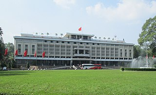 Independence Palace A presidential palace