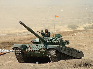 T-72 in an exercise