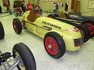 1950 Indianapolis 500 - Winning car of the 1950 Indianapolis 500