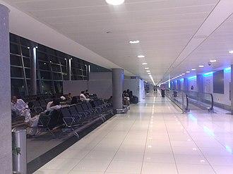 Abu Dhabi International Airport - Interior of Terminal 2