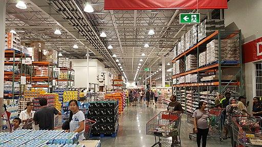 Inside Costco Perth