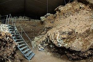 Divje Babe Flute - Excavation in Divje Babe I Cave