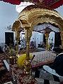 Inside sancto sanctrum Kartarpur sahib Gurdwara.jpg