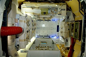 SpaceX Dragon - Interior of the COTS 2 Dragon capsule.