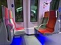 Intérieur Train Francilien Gare Haussmann St Lazare Paris 9.jpg