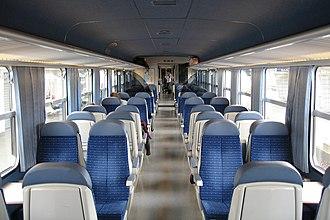 SNCF Class Z 9600 - Image: Intérieur d'une Z2 omnibus rénovée par Cramos