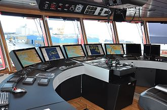 Navigation - Integrated Bridge System, integrated on an Offshore Service Ship
