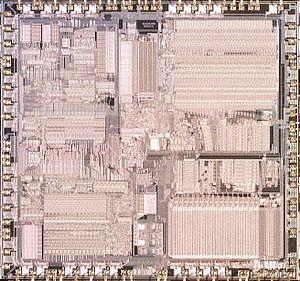 X87 - Intel 80387 CPU Die Image