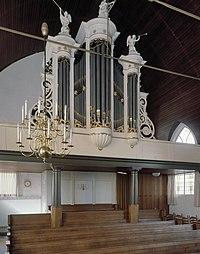 Interieur, aanzicht orgel, orgelnummer 1060 - Nieuwveen - 20370481 - RCE.jpg