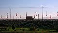 Interlace - end of 17 shahrivar st - flags of Iran-Nishapur 11.JPG