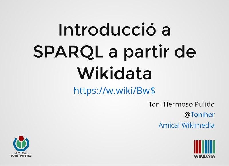 File:Introducció a SPARQL a partir de Wikidata.pdf