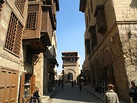 A street of Medieval Cairo