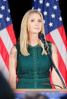 Photo portrait of Ivanka Trump