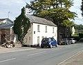 Ivy-clad house, Four Ash Street, Usk - geograph.org.uk - 2094343.jpg