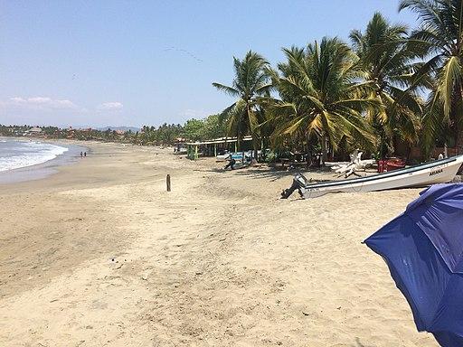 Ixtapa Island beach
