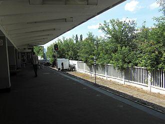 Izmaylovskaya (Moscow Metro) - Platform of the station