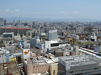 Jōtō-ku, Osaka - Jōtō-ku in 2014