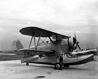 Grumman J2F Duck - J2F-3 at NAS Jacksonville in 1940