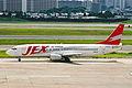 JA8994 B737-446 JEX JAL Express ITM 13JUL01 (6916423056).jpg
