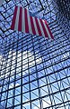 JFK Library Pavillion & flag.jpg