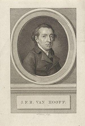 Jan van Hooff (politician) - Johan Frederik Rudolph van Hooff, by Reinier Vinkeles.