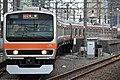 JR East E231-0 Series No.35 Shin-Narashino Sta.jpg