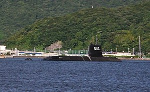 JS Hakuryū (SS-503) at Yura Base, -4 Aug. 2010 b.jpg
